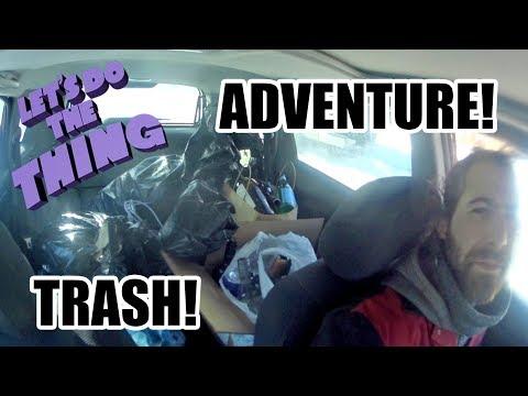 Trash Picking Dumpster Diving Adventures!