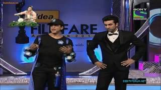 One of the best filmfare award show by SRK and RK