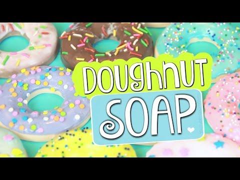 DIY DOUGHNUT SOAP - Soap Making For Beginners | SoCraftastic