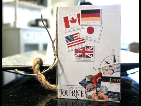 Handmade Travel Journal Tutorial | Nitwit Collections™