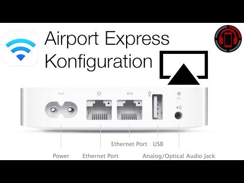 Airport Express einrichten & AirPlay Audio Setup Tutorial [Deutsch/German]