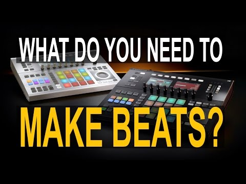 What do you need to start making beats?