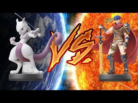 The Amiibo Games Semifinals Set 2   Ike Cream (Ike) vs. Espeon (Mewtwo)
