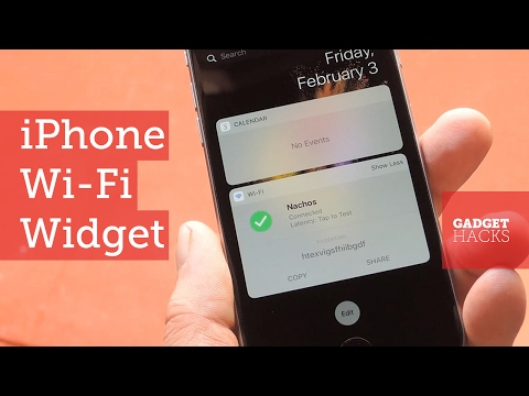 Get an iPhone Wi-Fi Widget for Easy Access to Common Functions [How-To]