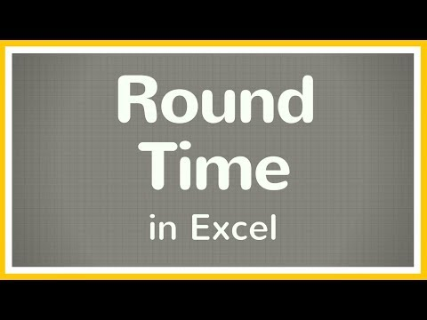 How to Round Time in Excel - Tutorial