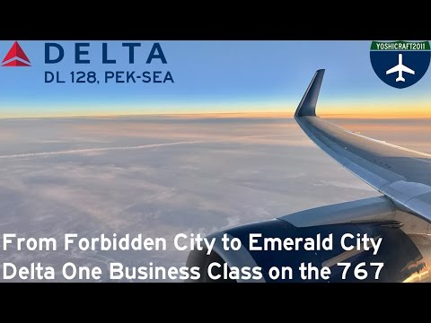 From Forbidden City to Emerald City - Delta One Business Class on the 767 (DL128, PEK-SEA)