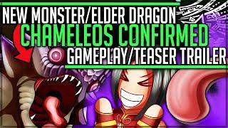 Chameleos in Iceborne - Official Teaser Trailer - Monster Hunter World Iceborne! #iceborne