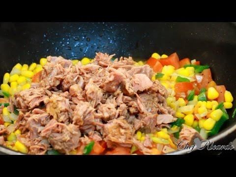 Vegetable Tuna Dish - (Jamaican Chef)   Recipes By Chef Ricardo