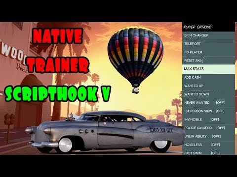 COMO INSTALAR MODs DE GTA 5 [GTA V] EN PC | SCRIPT HOOK V | NO ONLINE