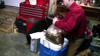Brining Smoking A Turkey With The Brinkmann Gourmet Electric Smoker