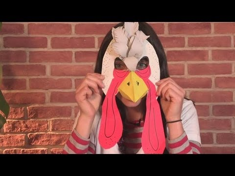 How To Make A Turkey Mask