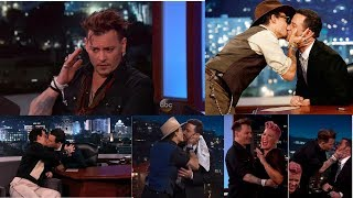 Johnny Depp Funny Moments With Jimmy Kimmel and Ellen & graham norton