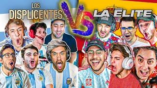 Los DISPLICENTES (Argentina) vs La ÉLITE (España) con APUESTA | FIFA 20