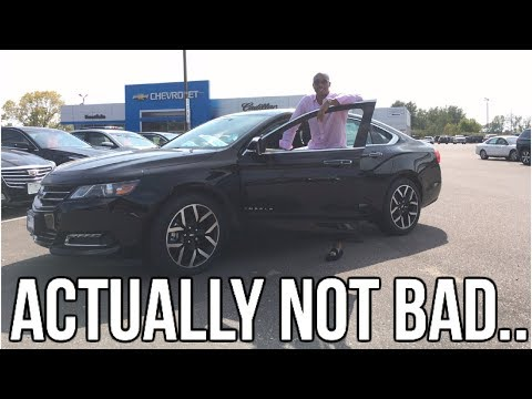 2018 Chevrolet Impala Review!! From A Tall Guy's Perspective..