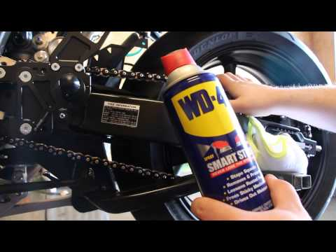 How To: Motorcycle Chain Cleaning