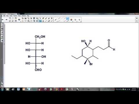 recognizing chiral carbons