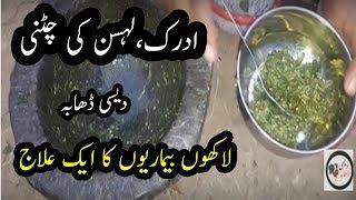 Mint Chatni Recipe | Desi Chatni Anar Dana | Full Desi Method | Desi Dhaba By Rameez Hassan