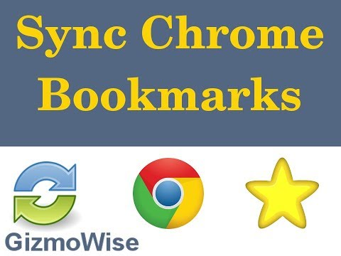 How to sync chrome bookmarks between PC and Android devices