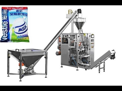 1KG flour Vertical FFS bag packing machine automatic with auger filler granule filling packaging