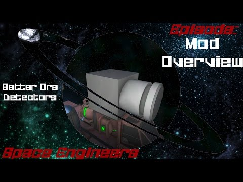 Space Engineers Mod Overview - Better Ore Detectors
