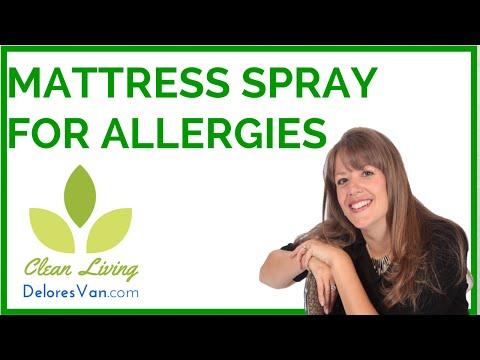 Mattress Spray for Allergies to Dust Mites Feces