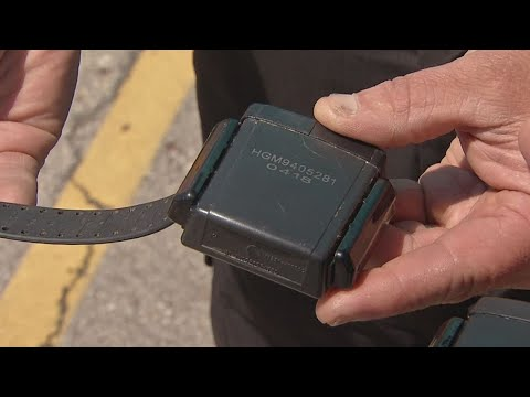 Worker finds discarded ankle monitor in south Columbus