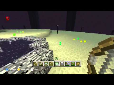 Killing The Ender Dragon Minecraft Xbox Edition