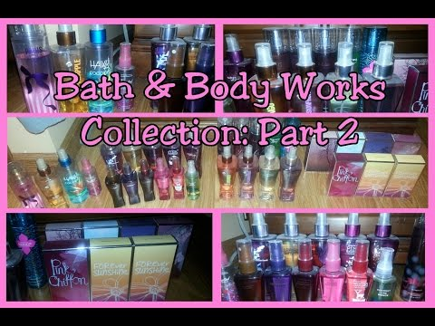 Bath and Body Works Collection: Fragrances! REQUESTED
