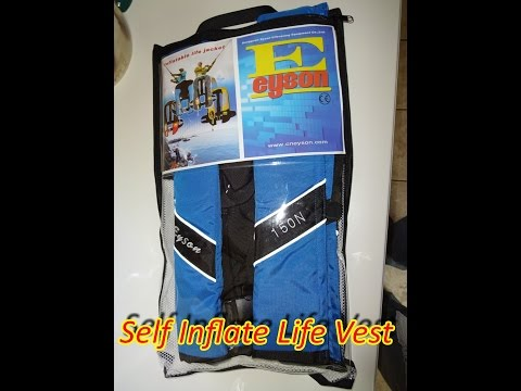 A Most Comfortable Self Inflating Life Vest