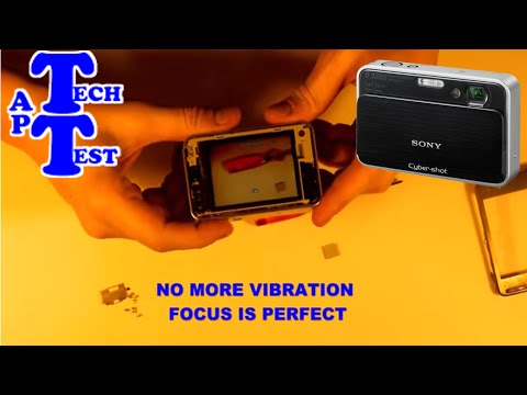 Vibrating SONY Cyber-shot™ DSC-T2 disassemble and repair