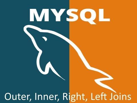 MySQL Outer, Inner, Left, Right Joins Demonstration