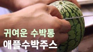 Download 푸드트럭ㅣFoodTruckㅣ부산 깡통시장│애플수박주스│Apple watermelon Juice│Tin market, Busan, Korea Street food Video