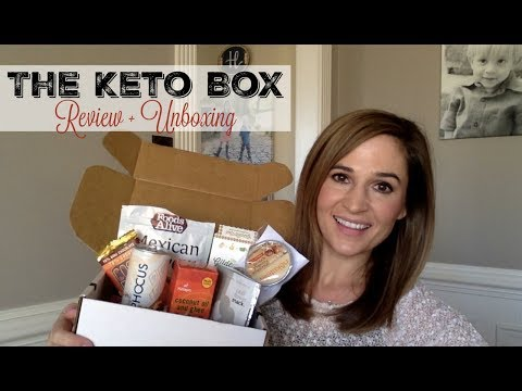The Keto Box Review + Unboxing | Heather Hooker