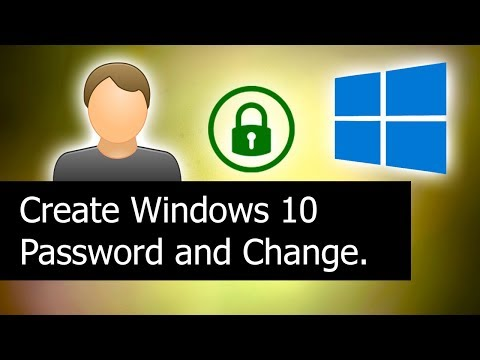How to Set/Change Windows 10 Password