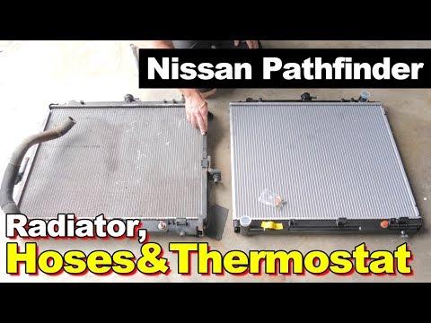 2006 Nissan Pathfinder Radiator, Hoses, & Thermostat