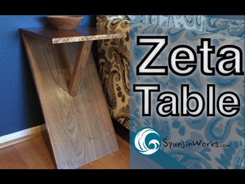 Modern Walnut Side Table // (Ep. 70)