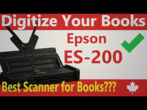 2 Epson ES 200: An Excellent Scanner to Digitize Your Books!
