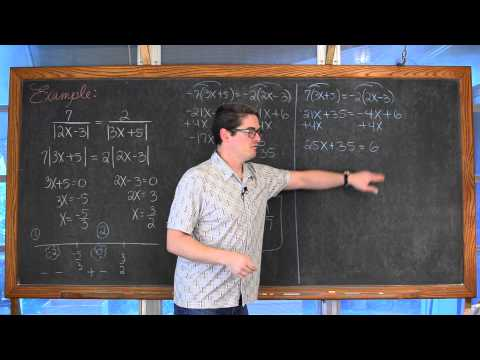 Solving Equations with 2 Absolute Value Functions or More