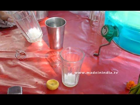 Lemon Juice Making | HEALTHY SUMMER DRINK street food