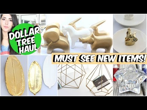 MUST SEE DOLLAR TREE HAUL NEW ITEMS MAY 2018