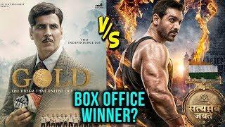 Gold Vs Satyameva Jayate Box Office Collection | Akshay Kumar v/s John Abraham