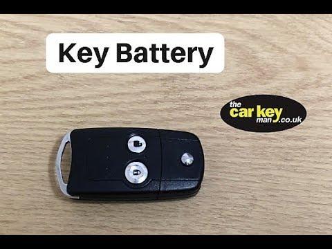 Honda Jazz Flip Key 2013 Key Battery