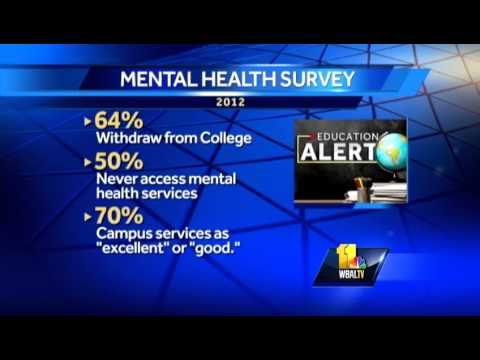 Mental health issues plague troubled college students