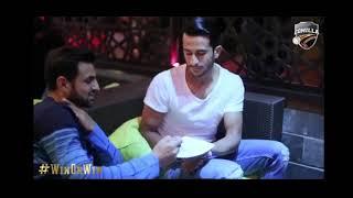 Shoaib Malik & Hassan Ali Sharing Food in Comilla Victorians Dinner Party