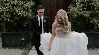 Fashion Blogger Marries Her High School Sweetheart. Absolutely Precious!! | Maddie + Sam
