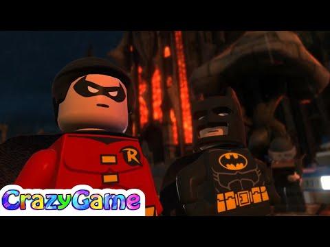 #LEGO #Batman 2 Episode 4 - Batman, Robin vs Scarecrow
