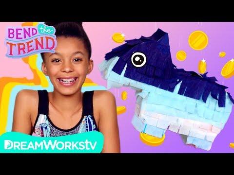Easy Mini Piñata Piggy Bank!   BEND THE TREND