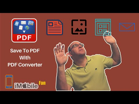 How To Save Documents Web Pages Emails to PDF