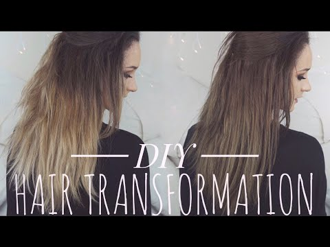 DYING MY HAIR BACK TO BROWN | DIY Hair Transformation | Hannah Dorman
