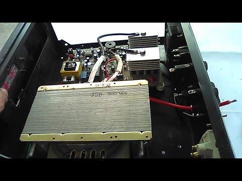 800VA Inverter Assembling. 12v DC To 230v AC.50HZ. YT-26